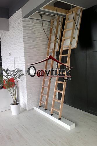 Чердачные лестницы в Екатеринбурге, купить готовую